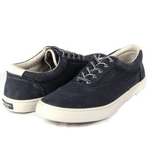Sperry Top-Sider Salt Washed Shoes Blue 15 NEW